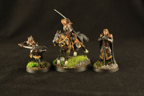Lord of the rings Wardens of Gondor  warhammer Games Workshop top paint