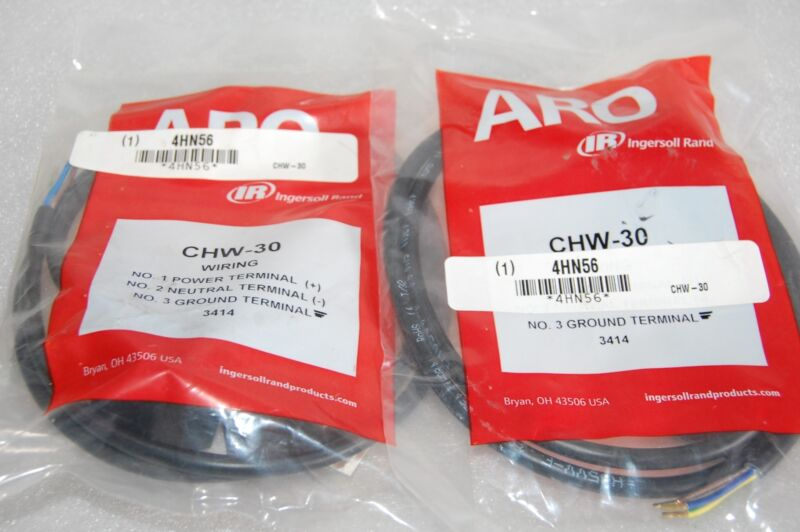 ARO CHW-30 SOLENOID COIL CONNECTOR - LOT OF 2