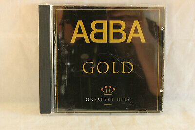 VINTAGE 1992 ABBA: GOLD GREATEST HITS MUSIC CD USED DISC LIKE NEW