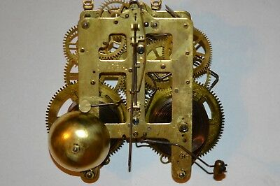 Original Seth Thomas Clock Movement 4 1 2