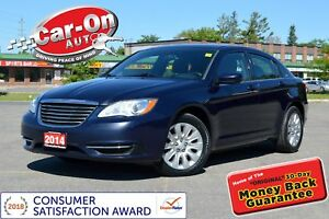 2014 Chrysler 200 A/C CRUISE POWER GROUP ONLY $72 BIWEEKLY o.a.c