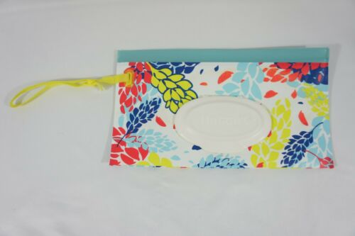 Huggies Clutch N Clean Refillable Wipe Travel Pouch Floral