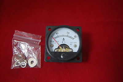 1pc Ac 0-30a Analog Ammeter Panel Amp Current Meter So45 Directly Connect