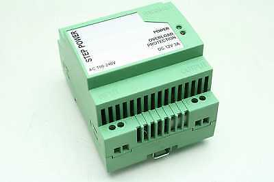 Phoenix Contact Step Ps-100 12v Dc Power Supply 3 Amp Output