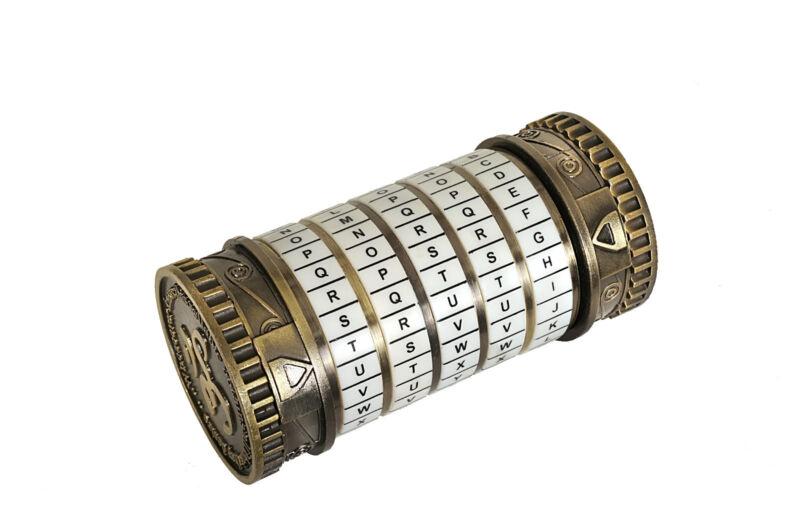 Large Cryptex - Cast Metal