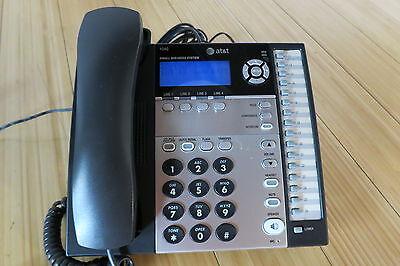 Att 1040 4-line Expandable Corded Small Business Telephone - Att1040