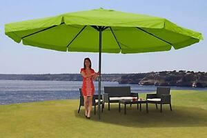 Aluminium Parasol Gastronomy Market Umbrella Garden Umbrella, Meran Ø: 5m green