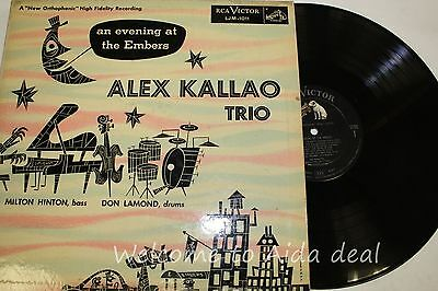 An Evening At The Embers   Alex Kallo Trio  Lp  Acp  12