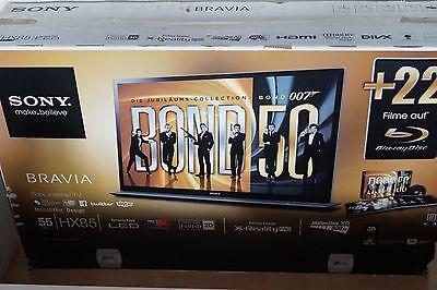 Sony Bravia KDL-55HX855 139,7 cm (55 Zoll) 3D 1080p HD LED LCD Internet TV