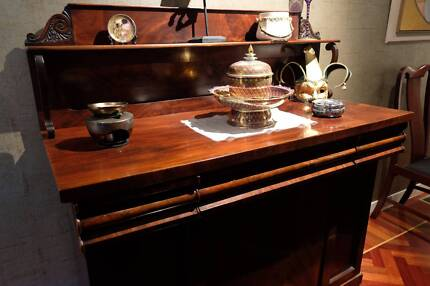 Victorian sideboard mahogany