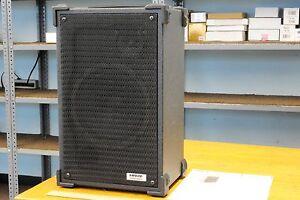 Vintage SHURE Prologue 250 speaker system, 2-way in black vinyl vented cabinet