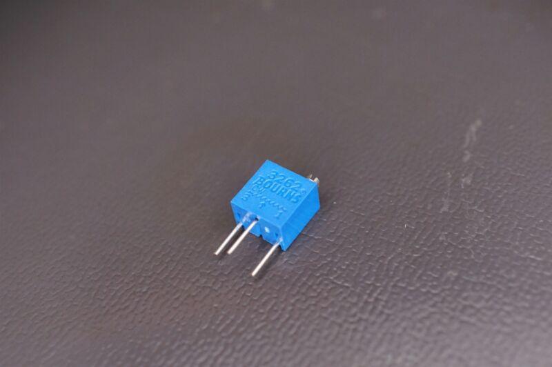 3262W-1-502 Bourns Trimmer Resistor 5k Ohm 12 Turn 10% 1/4W 250mW NOS