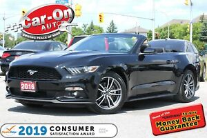 2016 Ford Mustang Premium Convertible LEATHER NAV REAR CAM