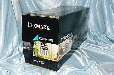 Lexmark C780H1YG C780 C782 X782 Cyan Print Cartridge