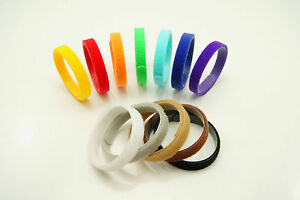 12 Puppy Kitten Reusable Velcro Adjustable Washable Collars - 350mm 12 colours