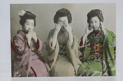 Japan, circa 1930, Kunst-Postkarte