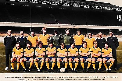 ARSENAL FOOTBALL TEAM PHOTO 1978-79 SEASON