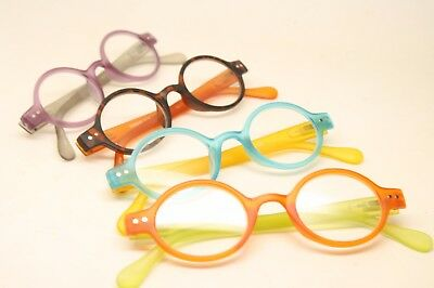 Cool Reading Glasses 4 Color Choice Colorful Oval Spring Men Womens +1.75 - (Cool Colored Glasses)