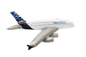 Airbus A380 zum Aufblasen 1,40 Meter Spannweite NEU Flugzeug aufblasbar