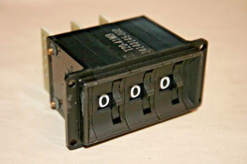 Cherry® 74140145-002  3-Digit BCD Thumbwheel Switch (101-183)