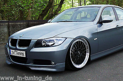 Sonderaktion Frontspoiler Spoilerecken aus ABS BMW E90 E91 3er Vorfacelift Flaps