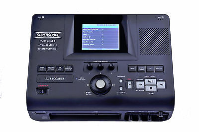 Superscope PSD450mkII-32 Solid State/USB/CD Audio Recorder System 32GB Version