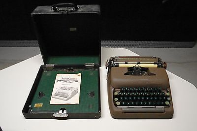Smith Corona Typewriter Silent Super 5 Made In Usa Vintage Antique 1949-1958