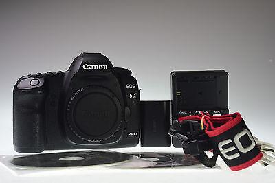 CANON EOS 5D Mark II Body 21.1MP Digital Camera Excellent