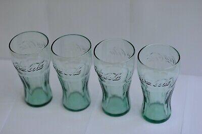 Retro Coca Cola glasses x 4 - BRAND NEW