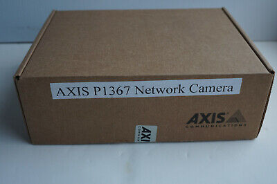 Axis P1367 5MP 1080p WDR Indoor Network IP PoE Security Camera *sealed box* for sale  Shipping to Nigeria