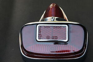 VESPA GS/VBB Chrome Tail Rear Brake Light Unit SIEM