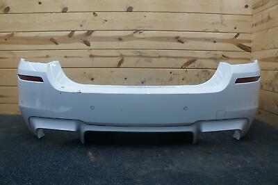 Rear Bumper Cover Alpine White Carbon Fiber Spoiler BMW F10 M5 5-Series 2011-16