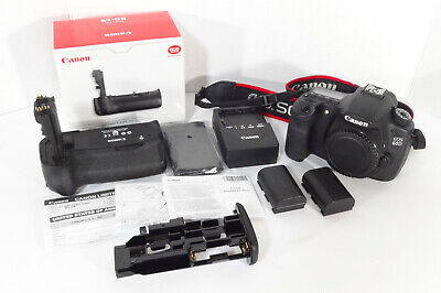 Canon 60D 18.0MP w/BG-E9 Battery Grip•XLNT COND•SUPER LOW SHUTTER COUNT-3938
