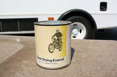 Vintage Harley Davidson 1 Qt. Can of SUNBURST PURPLE Paint NOS