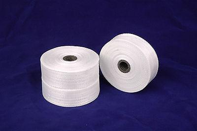 1pc Fiberglass Cloth Tape E-glass 1 Wide 54 Yards 25mmx50m Fiber Plain Weave