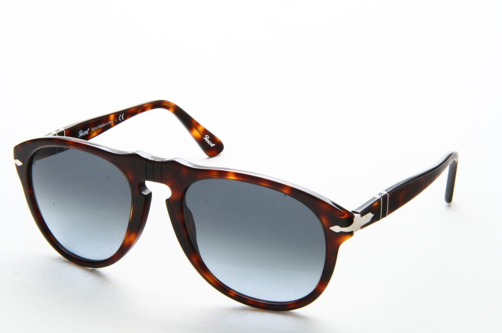 6cbee5b11ca Persol 649 Aviator Sunglasses 24 86 Havana Tortoise   Blue Gradient ...