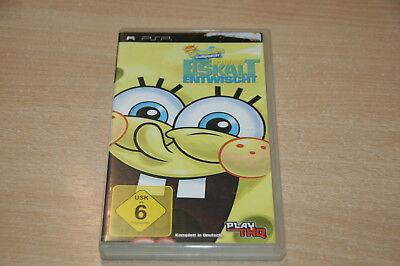 SpongeBob's Eiskalt entwischt (Sony PSP, 2009) USK 6 online kaufen