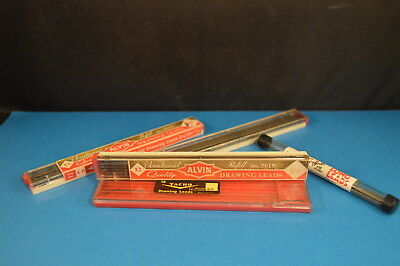 Lot Of Mechanical Lead Pencil Drawing Leads Refills Vintage Some Are Nos 5019