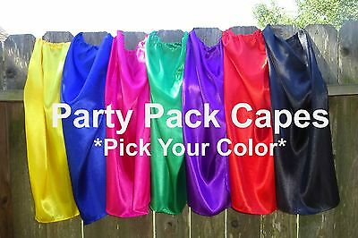 Childrens Super Hero Capes Party Favors Bulk - Kids Capes