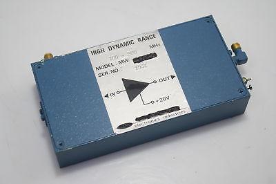 Rf Microwave Power Amplifier 100-500mhz 24dbm 15db Gain Tested