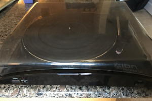 Ion Profile LP Vinyl to MP3 Turntable Record Player