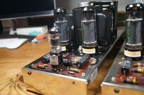 Pair of Dynaco Mark IV Tube Power Amplifiers
