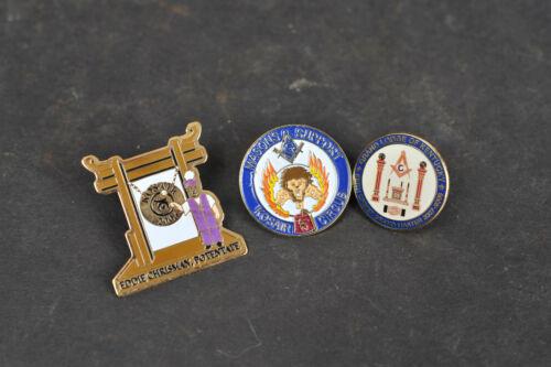 Lot of 3 Vintage Retro Shriner & Mason Support Circus & Grand Lodge of Kentucky