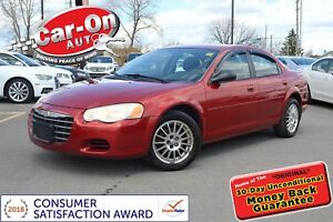 2004 Chrysler Sebring LX A/C PWR GRP ALLOYS ONLY $1, 875
