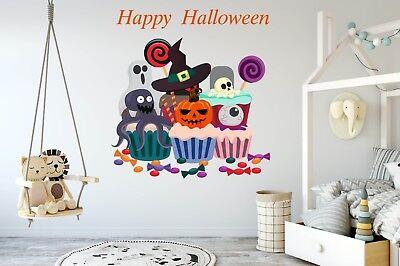 Halloween Stickers Holiday Decor for Home Halloween Murals Vinyl Decals SD31