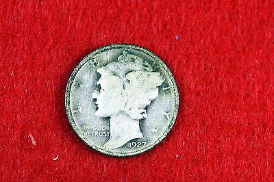ESTATE FIND 1927-  Mercury Dime!! #D2511