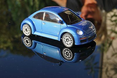 New Beetle blau Metallic+neue  Karosse  für MR-02 MR- 03 für  Mini-Z neu ovp+TOP
