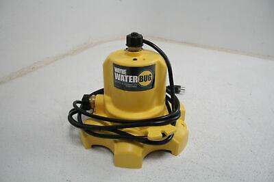 Wayne Wwb Waterbug Submersible Pump W Multi-flo Technology 1350 Gph Yellow