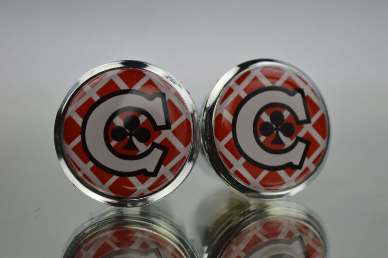 Colnago Master Plugs Caps Topes Tapones guidon bouchons lenker endkappe Red 3D