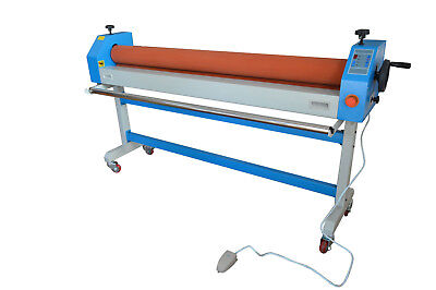 Electricmanual 63in 1600mm Large Cold Laminating Machine Heavy Duty Soft Roller